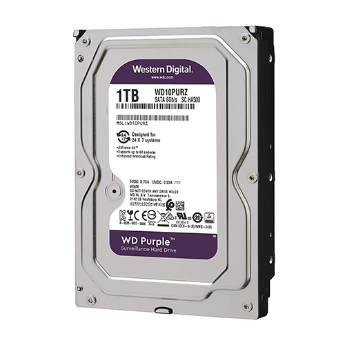 WD Purple 1TB Surveillance Hard Drive